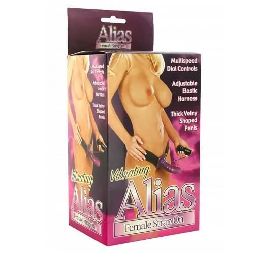 Alias Vibrating Female Strap On