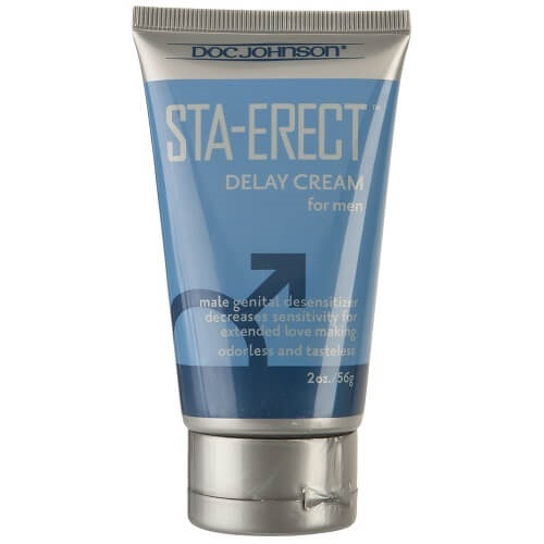 Doc Johnson Sta-Erect For Men-Cream