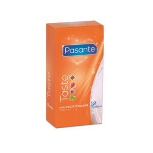 Pasante Flavours Condoms-12 pack