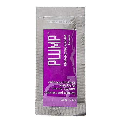 Doc Johnson Plump Enhancement Cream For Men Sachet