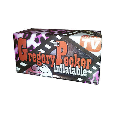 Gregory Pecker Inflatable Willy