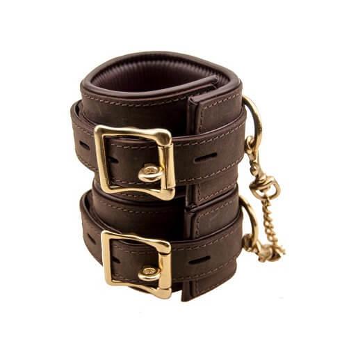 BOUND Nubuck Leather Ankle Restraints