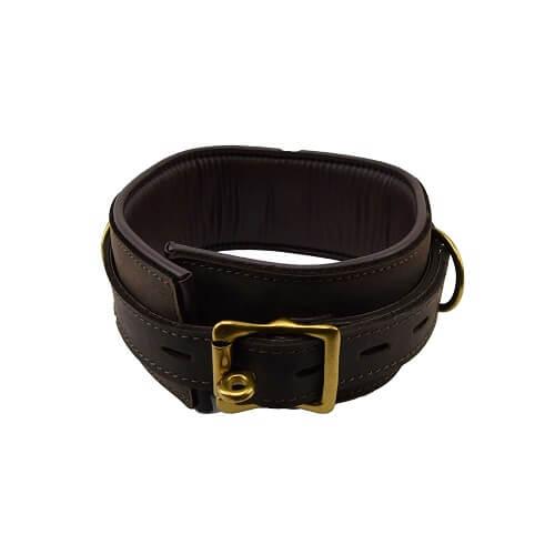 BOUND Nubuck Leather Collar