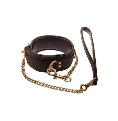 BOUND Nubuck Leather Leash