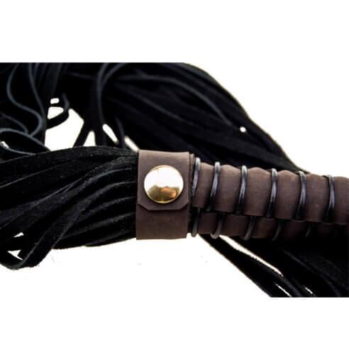 BOUND Nubuck Leather Flogger