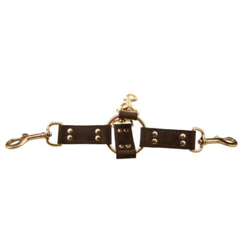BOUND Nubuck Leather 4 Way Hog Tie
