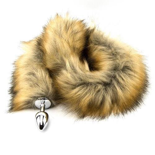 Furry Fantasy Red Fox Tail Butt Plug