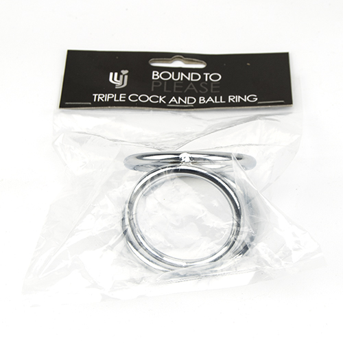 Bound to Please Triple Cock and Ball Ring