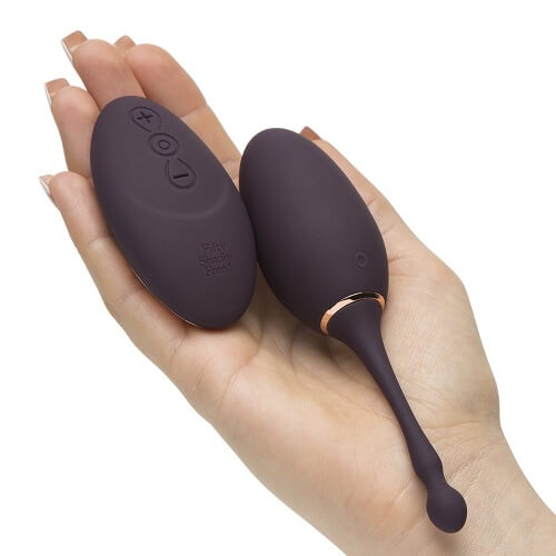 Fifty Shades Freed I've Got You Rechargeable Remote Control Love Egg
