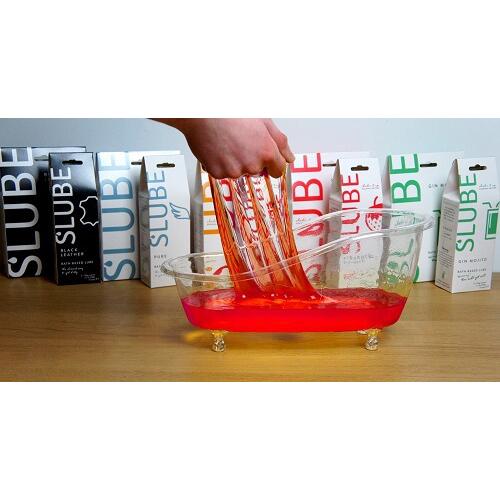 Slube Strawberry Daiquiri Water Based Bath Gel 250g