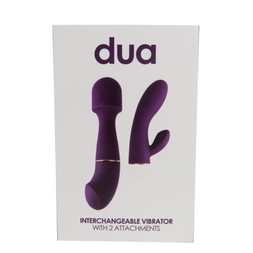 Loving Joy DUA Interchangeable Vibrator with 2 Attachments