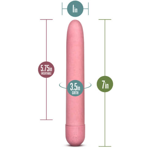 Gaia Biodegradable Eco Vibrator Pink