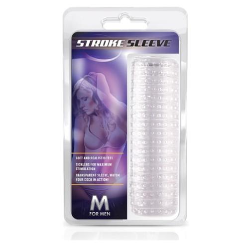 Textured Stroker Sleeve Clear