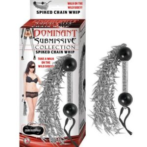 Dominant Submissive Spiked Chain Whip