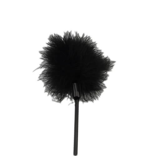 Bound to Please Silicone Heart Shaped Crop with Feather Tickler