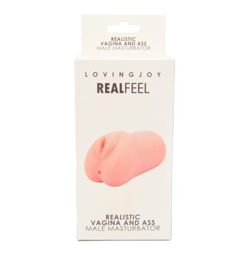 Loving Joy Realistic Vagina and Ass Male Masturbator