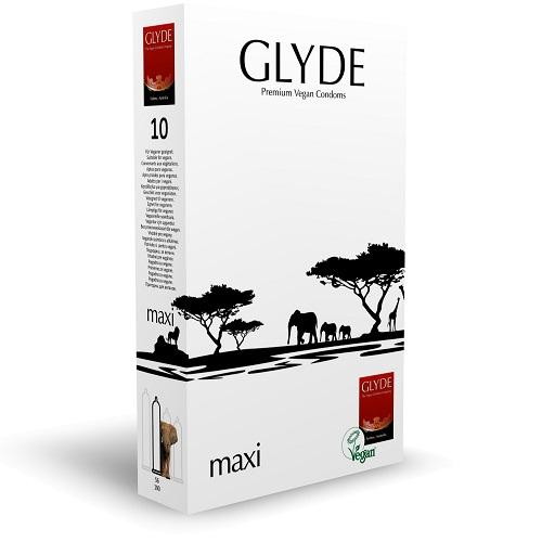 Glyde Ultra Maxi Vegan Condoms 10 Pack