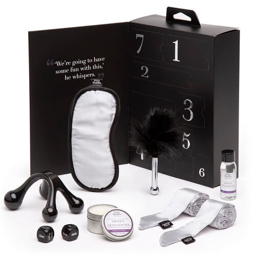 Fifty Shades of Grey Pleasure Overload Sweet Sensations Kit (7 pieces)