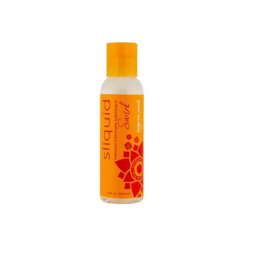 Sliquid Naturals Swirl Flavoured Lubricants-Tangerine Peach 59ml