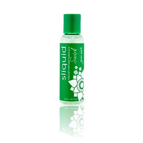 Sliquid Naturals Swirl Flavoured Lubricants-Green Apple 59ml