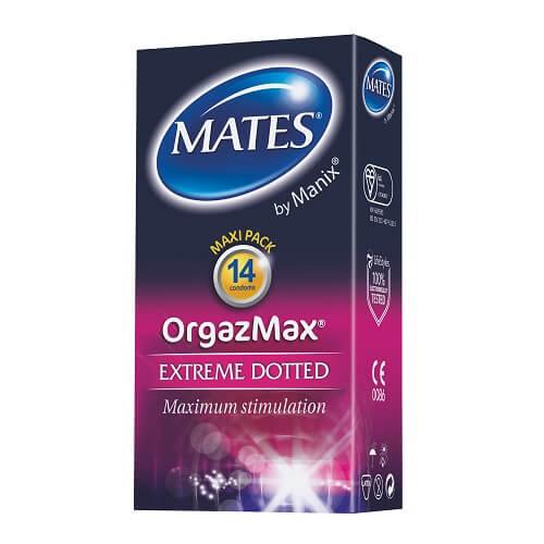 Mates OrgazMax Condoms 14 Pack