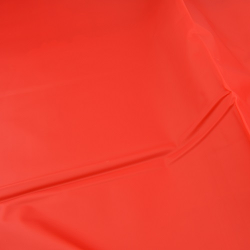 Bound to Please PVC Bed Sheet One Size Red