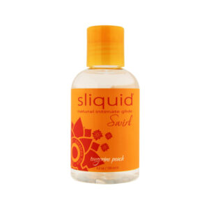 Sliquid Naturals Swirl Flavoured Lubricants-Tangerine Peach