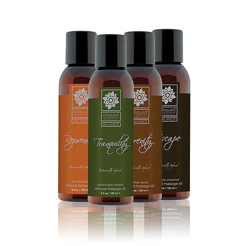 Sliquid Balance Collection Massage Oil 4.2oz