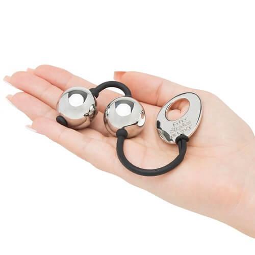 Fifty Shades of Grey Inner Goddess Silver Pleasure Balls