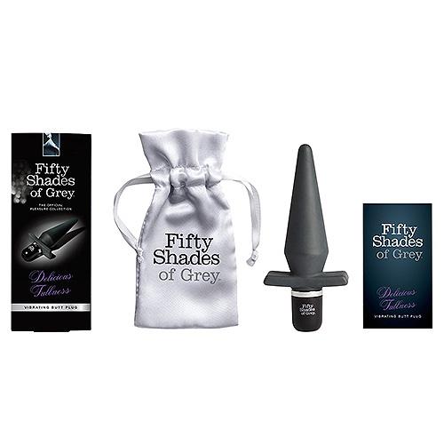 Fifty Shades of Grey Delicious Fullness Vibrating Butt Plug