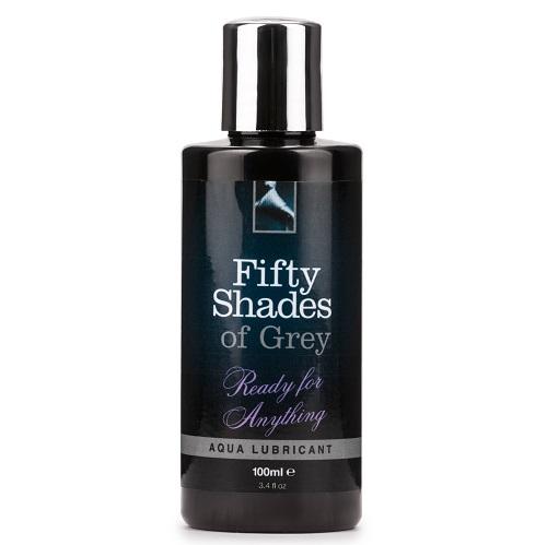 Fifty Shades of Grey Ready For Anything Aqua Lubricant 100ml