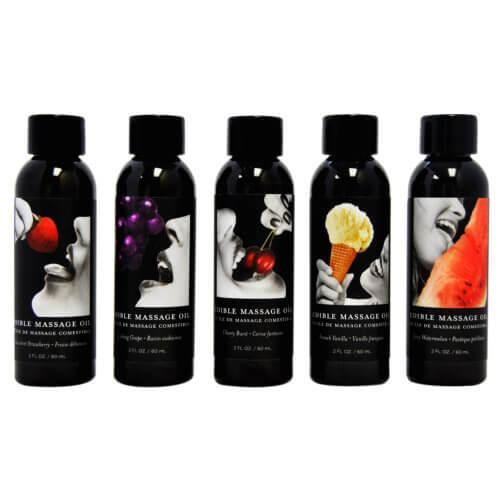 Earthly Body Edible Massage Oil 2oz