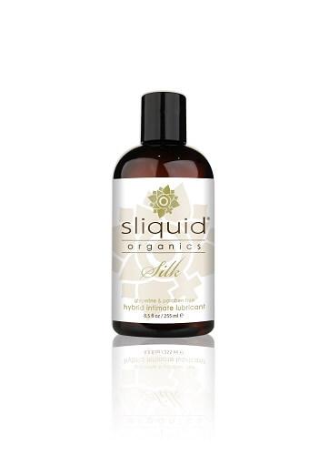 Sliquid Organics Silk Hybrid Lubricant-255ml