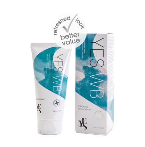 YES Organic Water Based Personal Lubricant-100ml
