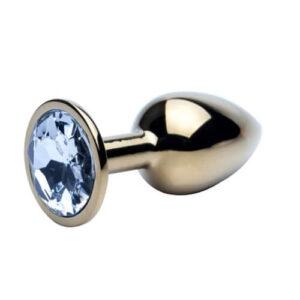 Precious Metals Gold Butt Plug-Small