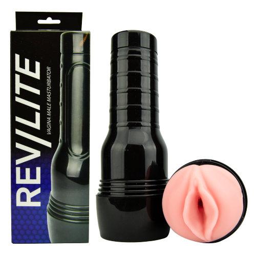 Rev-Lite Realistic Vagina Male Masturbator