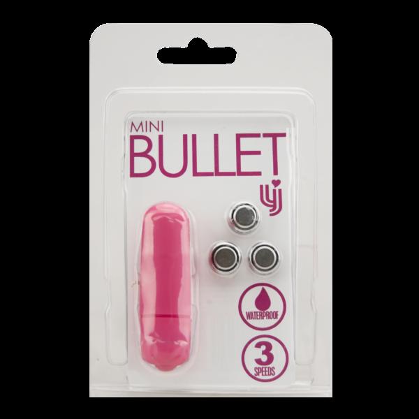 Loving Joy 3 Speed Mini Bullet Vibrator - Pink